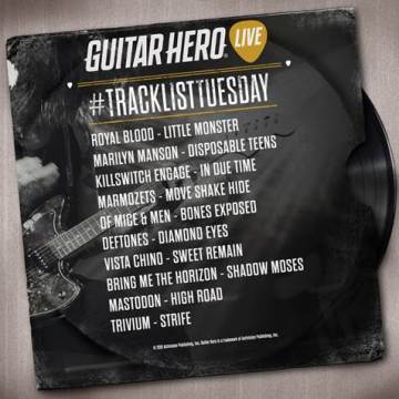 guitar hero live 19th may tracks