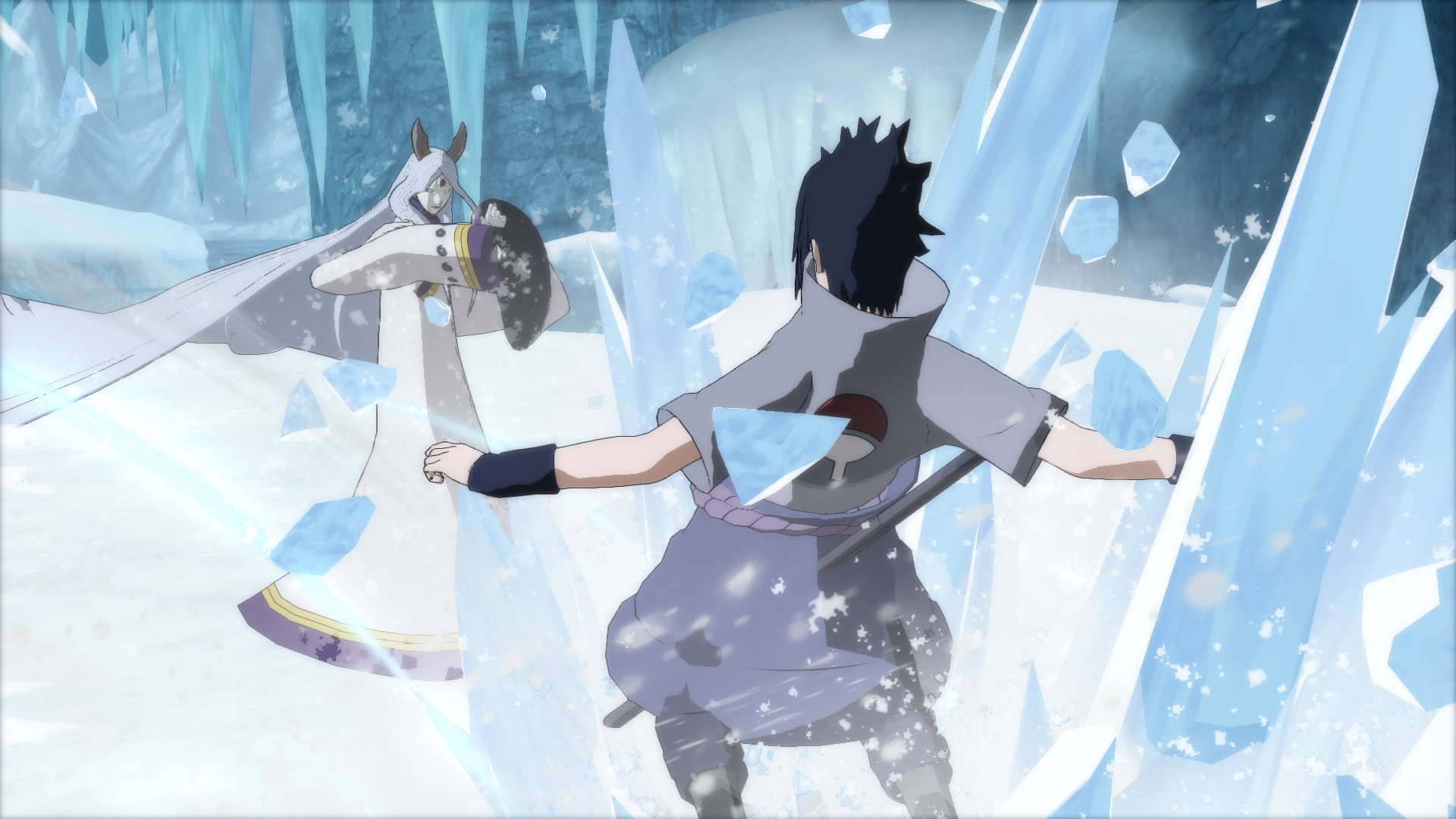 New screenshots and gameplay mechanics revealed for Naruto Shippuden