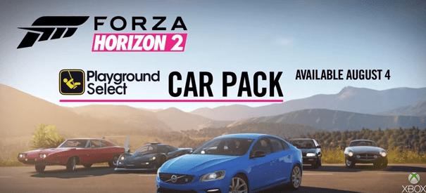 forza horizon 2 playground car pack