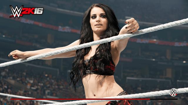 WWE 2K16 Paige