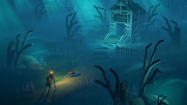 flame in the flood