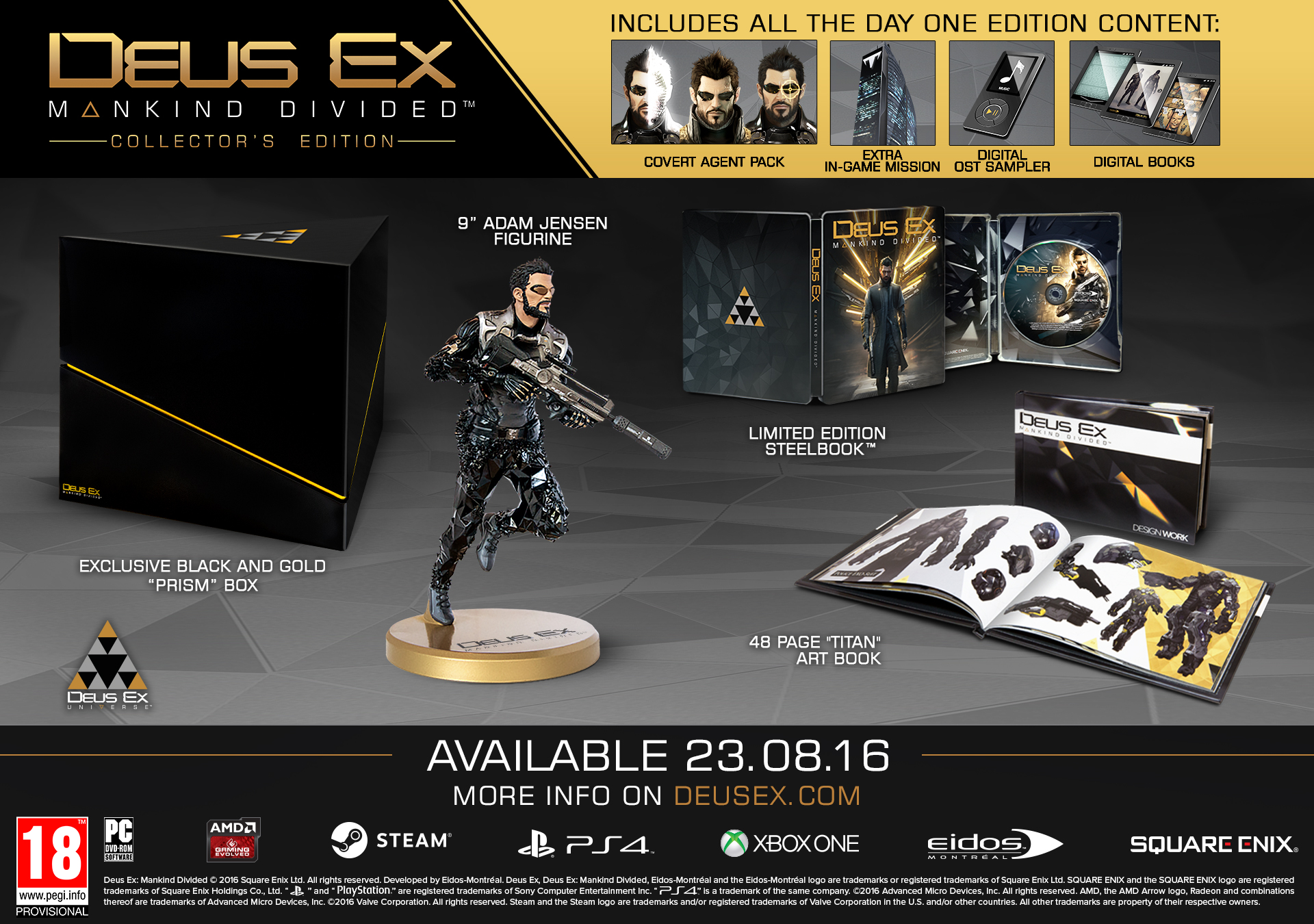 Deus Ex: Mankind Divided - Digital Deluxe Edition Download Free