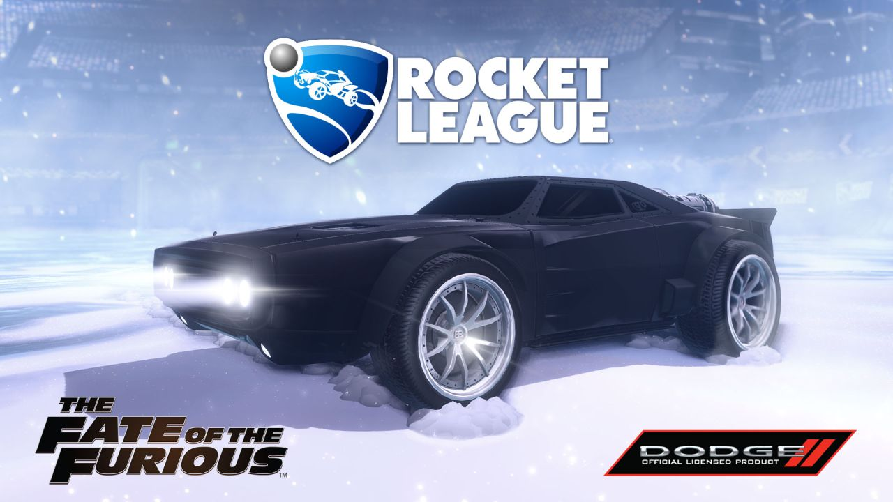 Dodge Ice Charger >> Grab The Fate Of The Furious Dodge Ice Charger Now In Rocket League