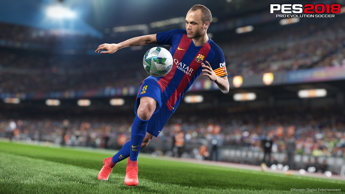 Create legends as PES 2018 details are revealed