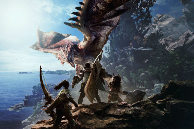 Explore the Wildspire Waste in Monster Hunter