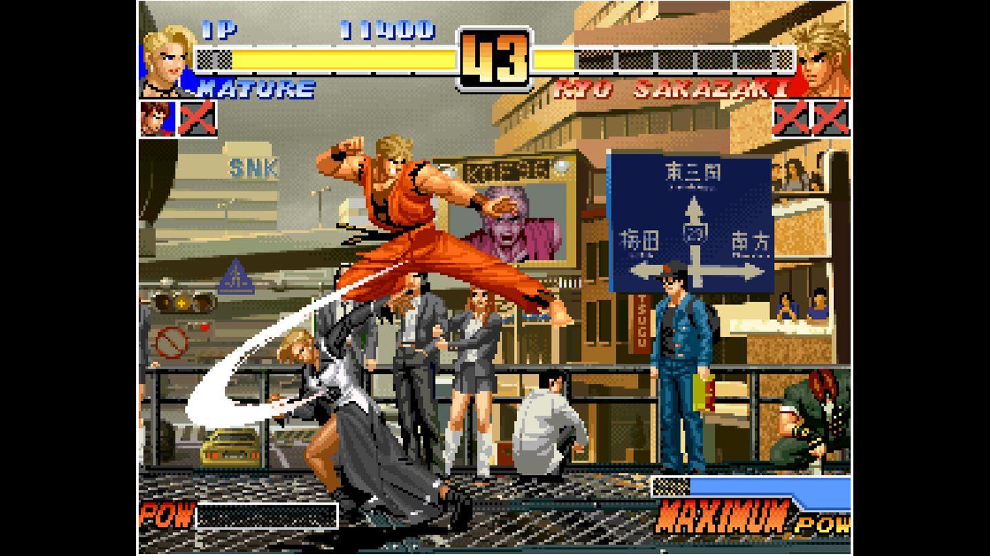 Aca Neogeo The King Of Fighters 96 Now Available On Xbox One