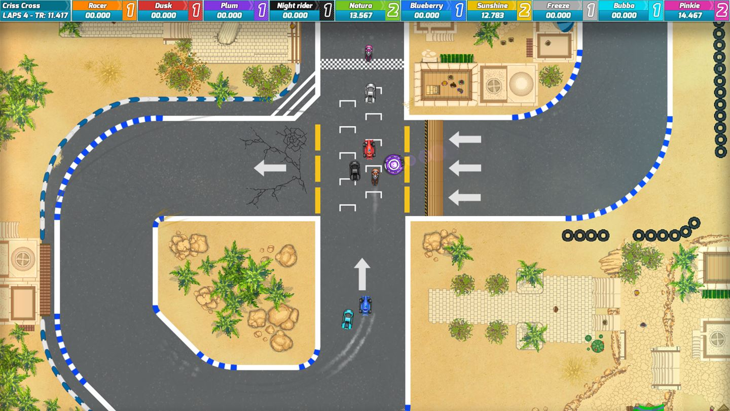 Race Arcade Takes It Old School With Competitive Racing Action On
