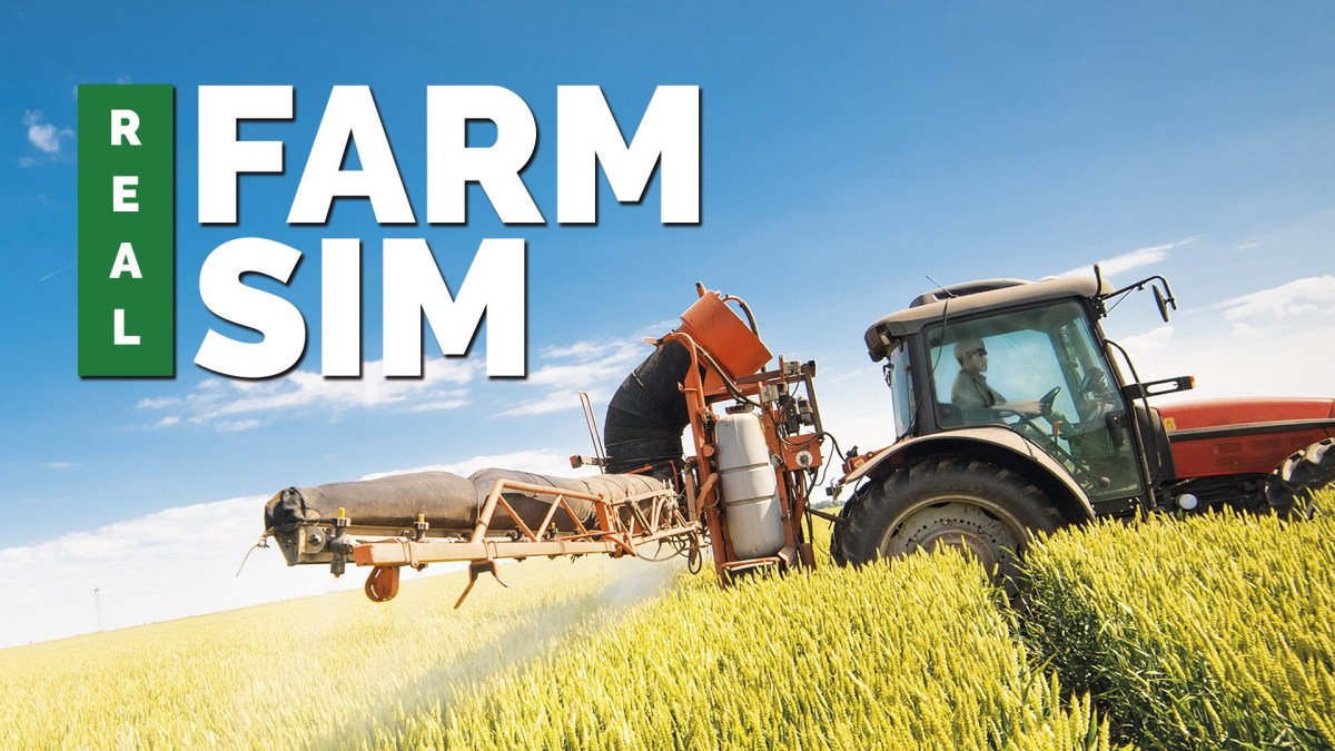 Real Farm Sim announced for Xbox One, PS4, Switch and PC
