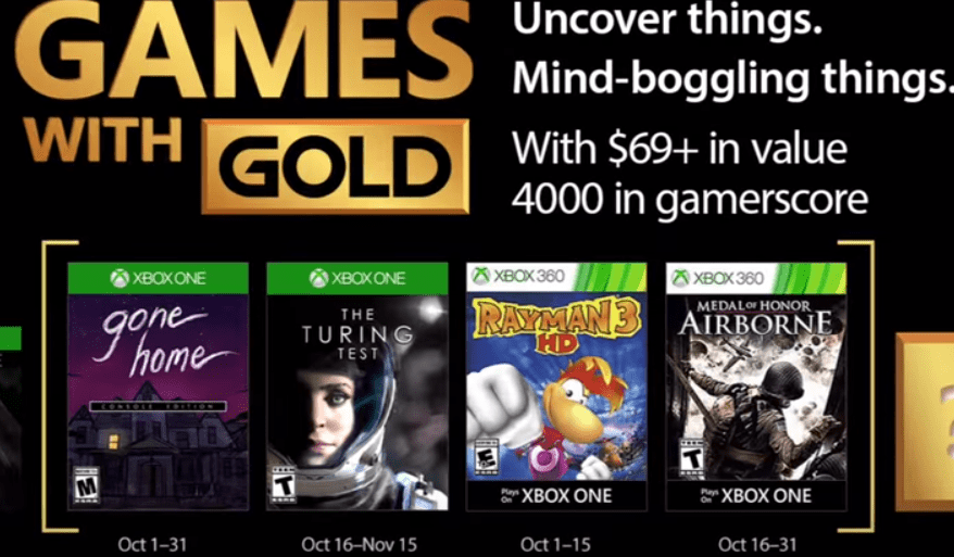 Gone Home and Rayman 3 are available now through Games with Gold