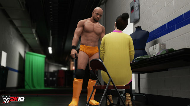 WWE 2K18 Receives New Details for MyCAREER Mode