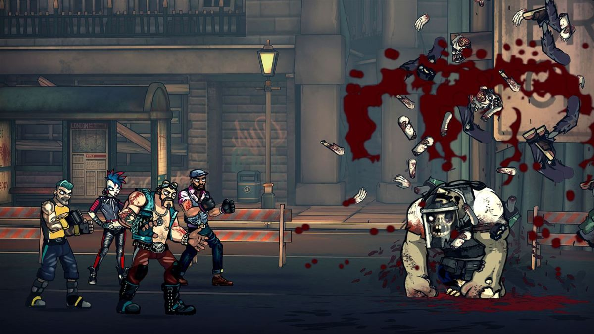 Bash brains and save London in Bloody Zombies on Xbox One
