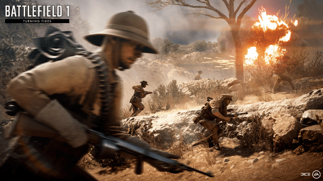 Battlefield 1: Turning Tides expansion dated for December