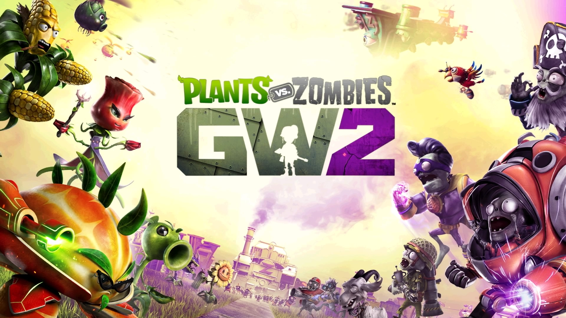 Image result for plants vs zombies garden warfare 2 1920x1080