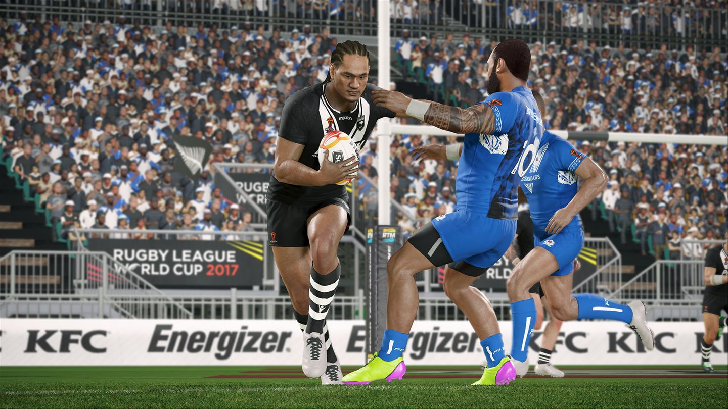 Rugby League Live 4 World Cup Edition Now Available On