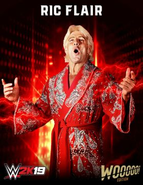 WWE 2K19 : L'édition collector 100% Ric Flair  WWE2K19-Roster-Ric-Flair