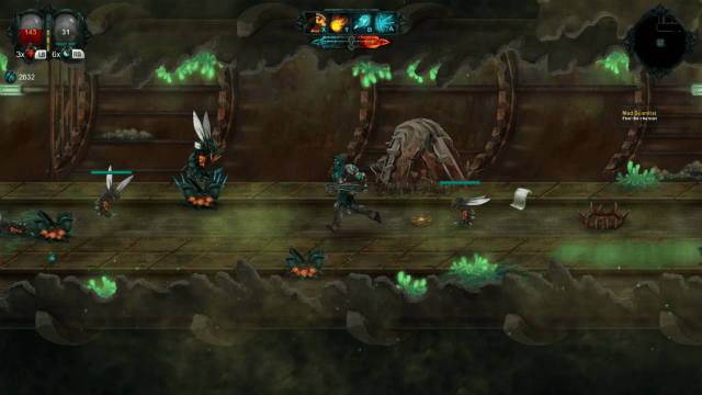 Hand-painted action RPG, Moonfall Ultimate, detailed and dated for