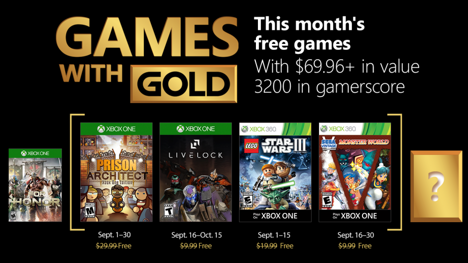 Are the free Xbox Games With Gold titles for September 2018 any good