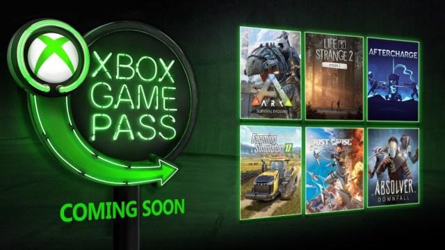 Xbox Game Pass January 2019