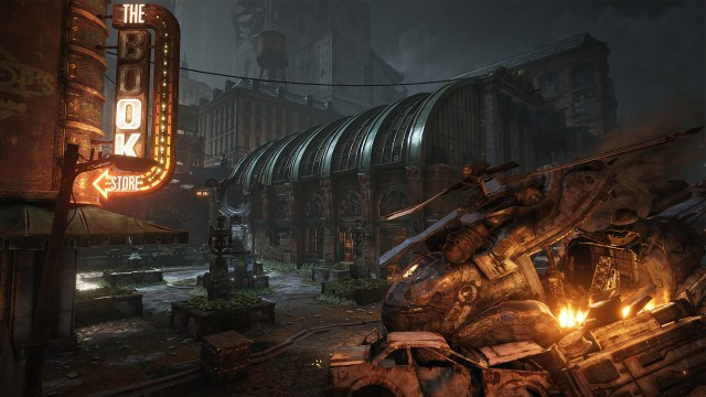 Gears of War Raven Down map