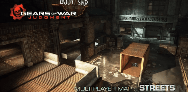 Gears of war map streets 2