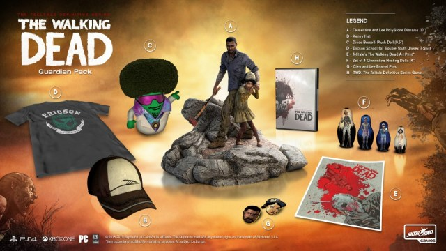 TWD Definitive Series Guardian Pack Contents