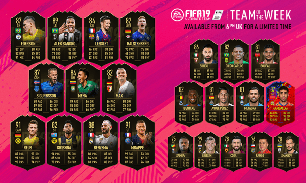 FIFA 19 Team of the Week #32