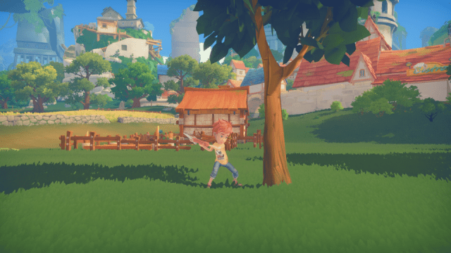 my time at portia tree chopping