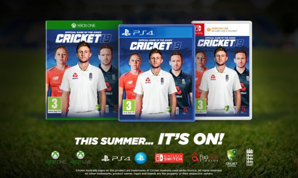 cricket 19 packshots