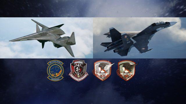 ace combat 7 adf-01 falken