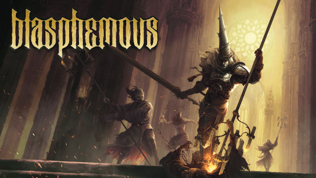 Blasphemous Key Art