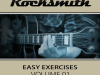 rocksmith easy exercises volume 1 xbox