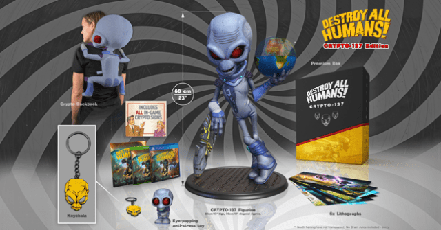 destroy all humans special editions