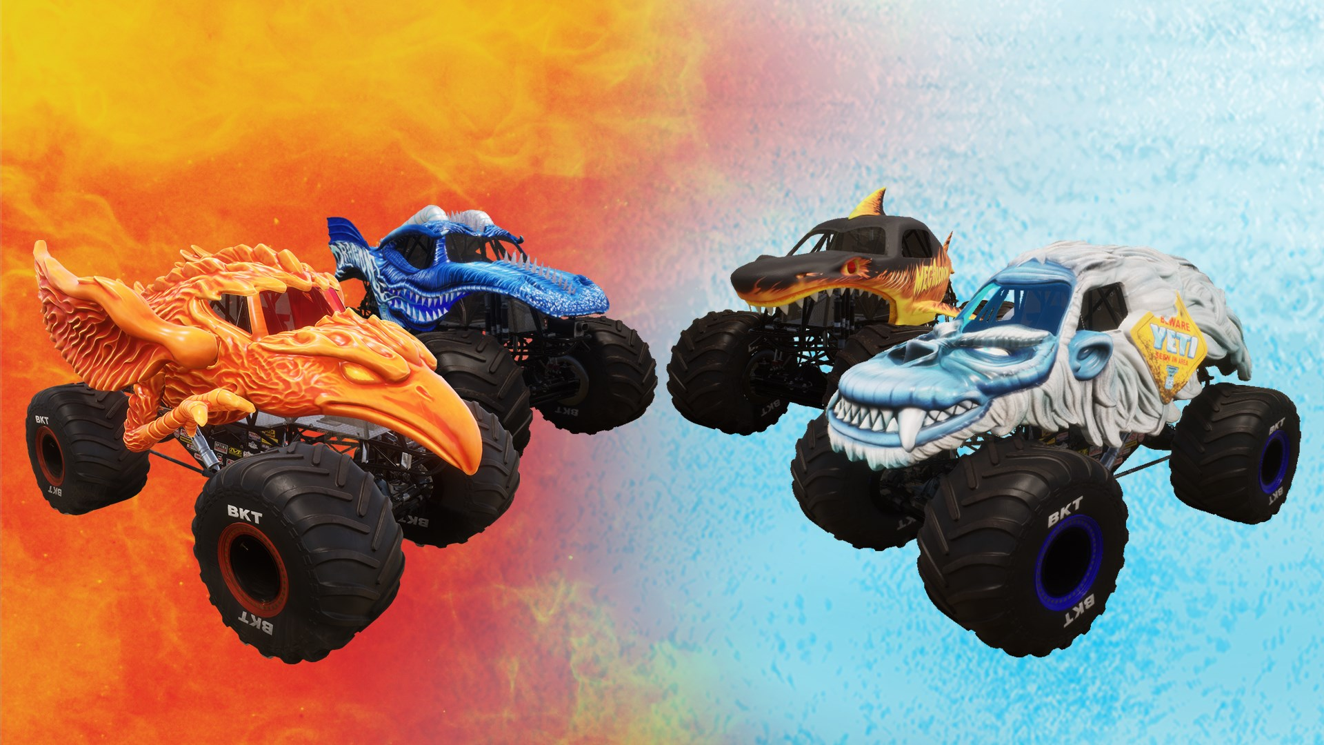 Monster Jam Steel Titans Gets New Fire Ice Dlc Thexboxhub