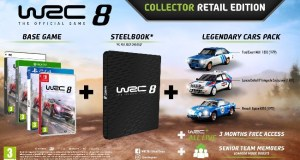 wrc 8 collectors edition