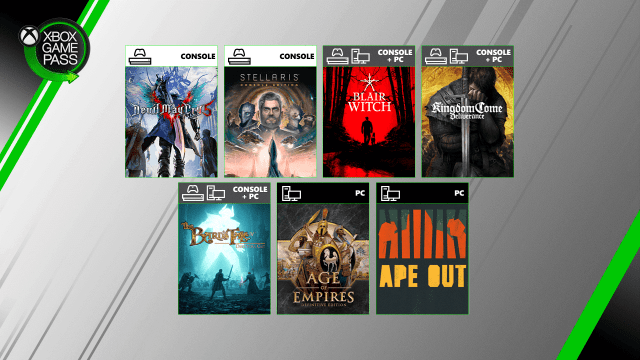 xbox game pass games august 2019