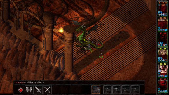 baldurs gate 2 dragon