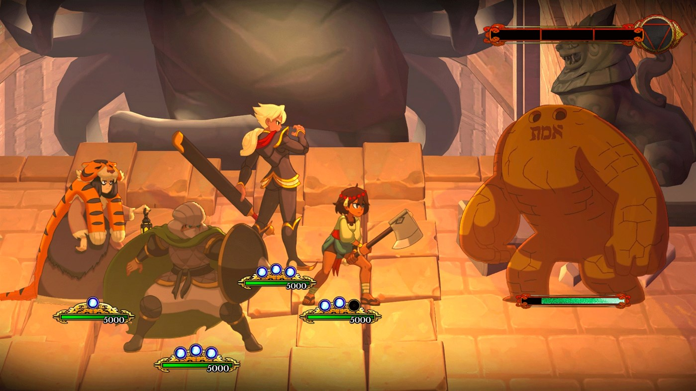 indivisible xbox one battle