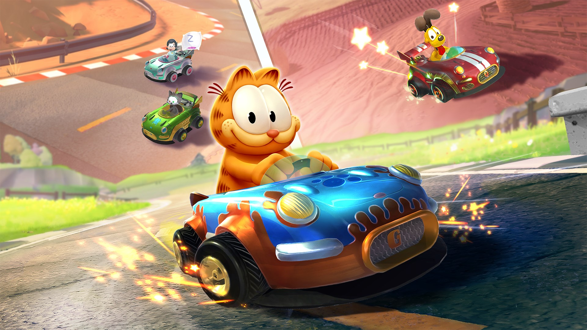 Reunite With Garfield And Friends In Garfield Kart Furious Racing On Xbox One Thexboxhub