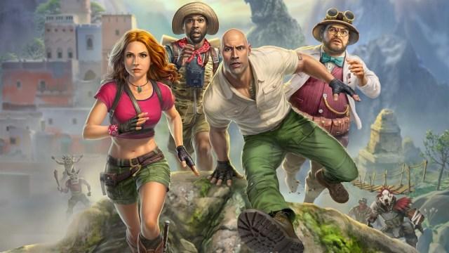 jumnji the video game