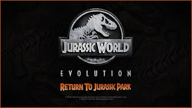 return to jurassic park xbox one