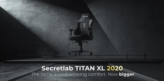secretlab titan xl header