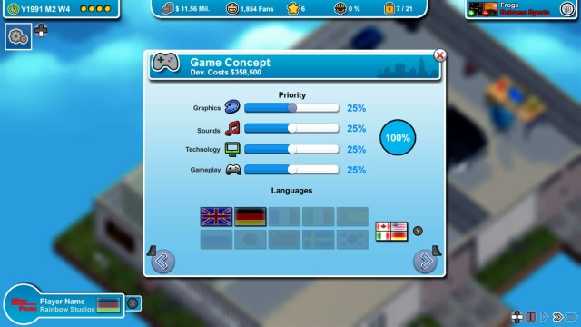 Mad Games Tycoon Review 2