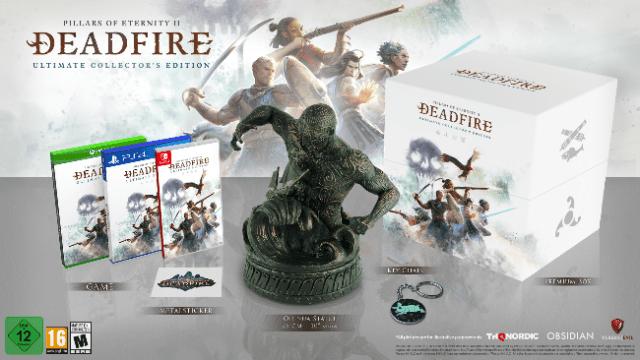 pillars of eternity ii deadfire collectors edition