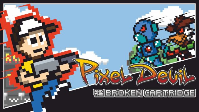 pixel devil and the broken cartridge xbox