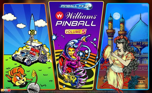 williams pinball volume 5 xbox