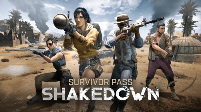 pubg survivor pass shakedown