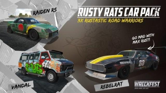 wreckfest rusty rats dlc