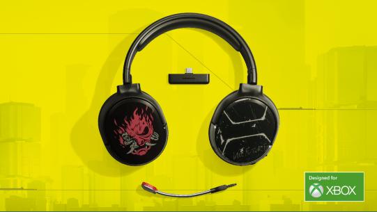 steelseries cyberpunk silverhand headset