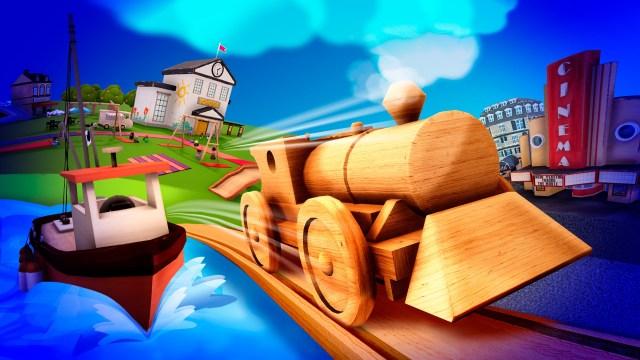tracks the train set game suburban pack