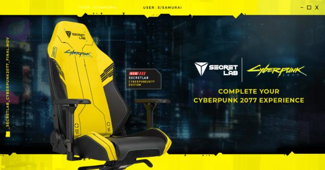 Secretlab Cyberpunk Edition chair